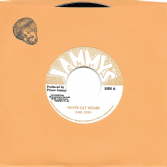 SALE ITEM - Earl Zero - Never Get Weary / Weary Dub (Jammy's) EU 7""